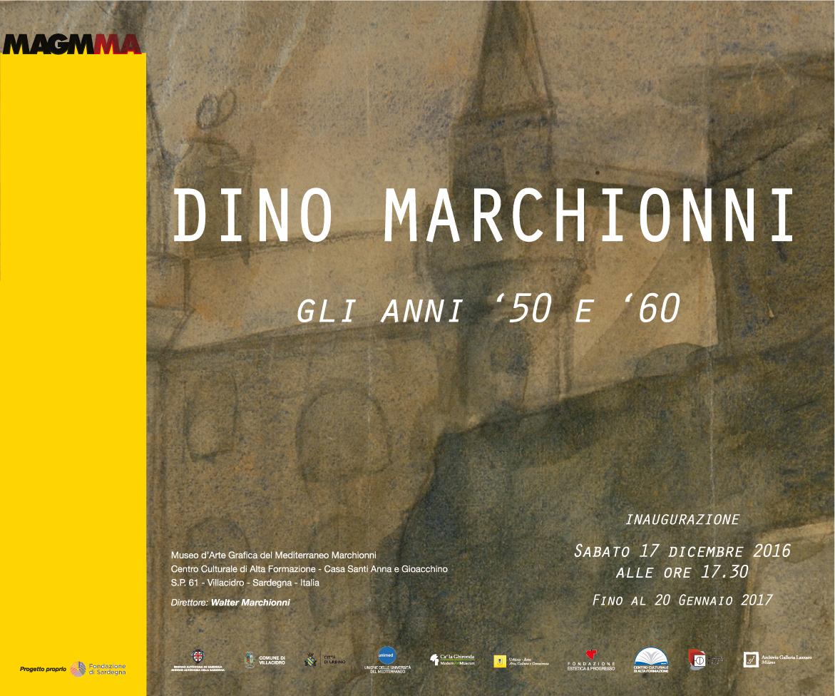 DINO MARCHIONNI – GLI ANNI '50 E '60