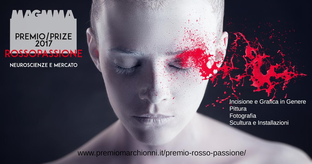 Al via il nuovo Premio Internazionale d'Arte – Rosso Passione – Neuroscienze e mercato