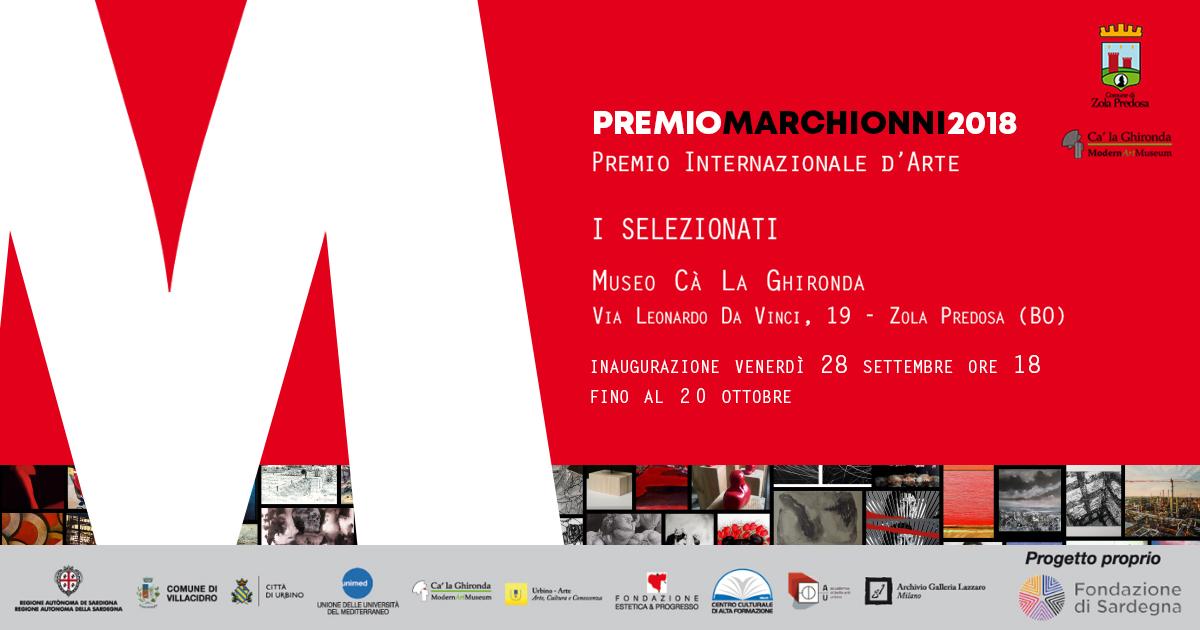 PREMIO MARCHIONNI 2018 – Concorso Internazionale d'Arte Contemporanea del Museo Magmma