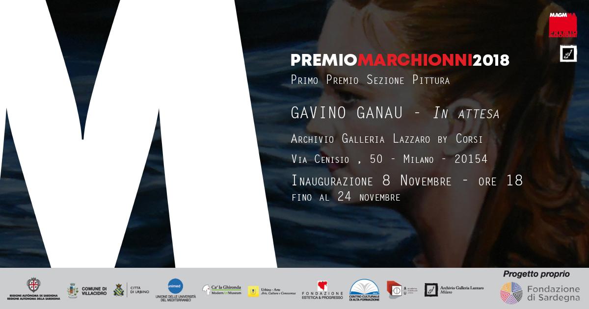 MARCHIONNI PRIZE 2018 – GAVINO GANAU