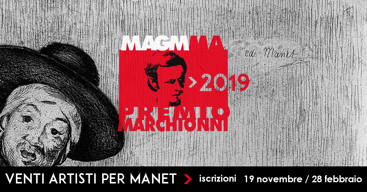 MARCHIONNI PRIZE 2019 – TWENTY ARTISTS FOR MANET