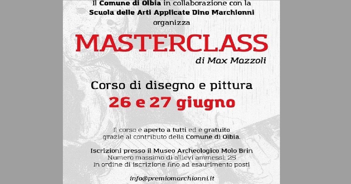 MASTER CLASS OLBIA 26/27 GIUGNO