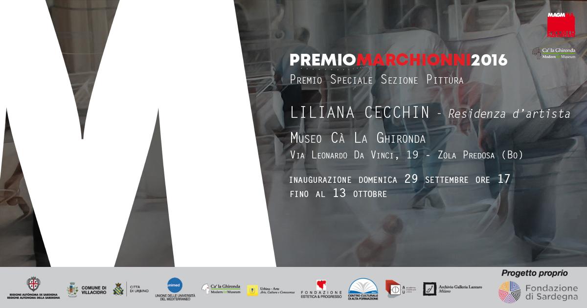 PREMIO MARCHIONNI 2016 – LILIANA CECCHIN