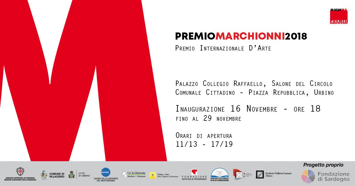 PREMIO MARCHIONNI 2019 – Concorso Internazionale d'Arte Contemporanea del Museo Magmma