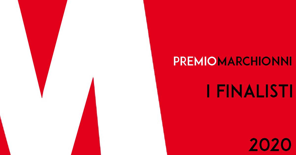 Finalisti Premio Marchionni 2020