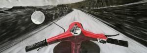 0020-fabio-scognamiglio-Verso il mare-Incisione e grafica-Carboncino-40x100