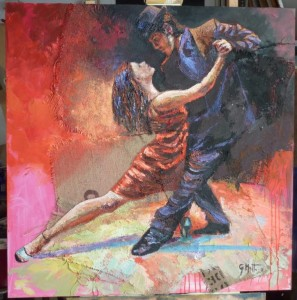 0025-giovanni-battista-mattu-N°313-tango-1-tecnica-mista-spatola-su-tela-100x100-