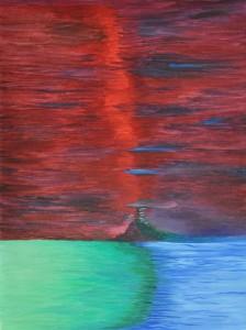 0035-liberata-mizzoni-La Via dello Spirito-olio su tela-30x40