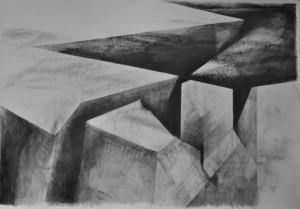 0036-Elia-canale-credevamo Nell'eternità-matita Su Carta-100x70