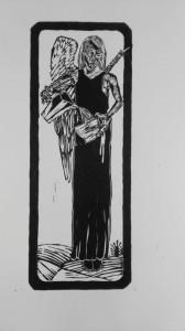 0041-Federica-frati-temperance, Stampa Xilografica, 190 X 500 Mm