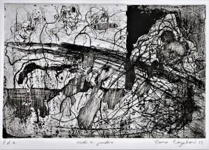 0061-Laura-cangelosi-vuoto A Perdere, Acqua Forte Su Zinco, Foglio 50x70 Cm