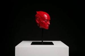 0063 Tobia dal Maso - Red dream-Scultura-Ceramica-25x25x39,5 cm