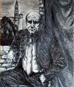 0070-Luca-piccinini-studio-di-figura-maschile-cm.28x22-inchiostro-di-china-su-carta