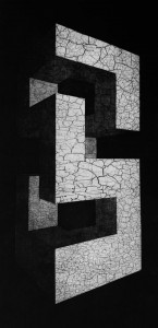 0082-Marco-poma-monòlito-acquaforte - Acquatinta-44,5x70