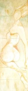0089-Maria-giacoma-vancheri-sospensione 120x40 (gesso,polveri,filo Di Corda)
