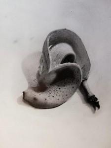 0094-Matteo-farina-banana-matita Su Carta-cm 20x25