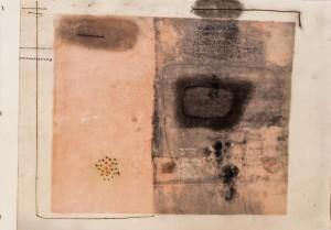 0105-Nicolò-brezza-scambi-monotipo Olio Su Carta-21x29,7cm