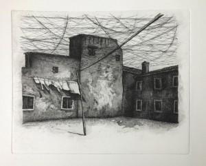 0135-Sofia-fresia-visioni Urbane-acquatinta Su Acquaforte-240x180 Mm