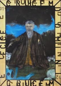 Pitt0001-Alain-cristiano-ferraris-tentazione Di San Girolamo-olio Su Tela-70x50-0001