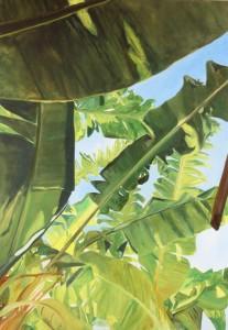 Pitt0040-Daniela-sarigu-banano-garden olio-su-tela 60x80 2019-0040