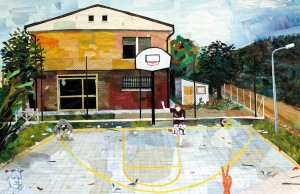 Pitt0081-Giovanni-lanzoni-playground Session-collage Su Carta-60x90-0081