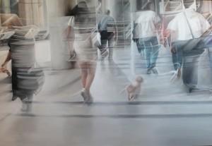 Pitt0100-Liliana-cecchin-ghosts In The City-olio Su Tela-143x98-0100