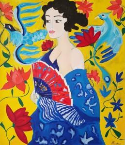 Pitt0103-Luana-marchisio-memorie Di Una Geisha-olio Su Tela-90x80-0103