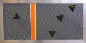 Pitt0112-Lucia-scano-l'esodo Dall'egitto-tecnica Mista-120 X 60 Cm-0112