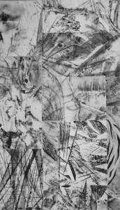 Pitt0114-Luigia-d'alfonso-sabìr Eterogenesi-tecnica Mista Su Tessuto-62x105-0114