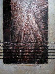 Pitt0121-Marco-mattei-prima Di Cedere-acrilico Su Tavola-cm60x80-0121