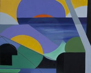 Pitt0123-Maria-giacoma-vancheri-fantasia Interiore  100x80 (olio Su Tela E Filo Di Corda)-0123