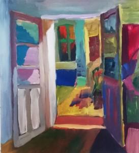 Pitt0148-Neli-stucke-door-acrylic On Canvas-70x90-0148