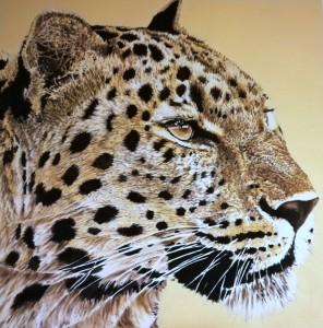 Pitt0190-Tiziana-sanna-leopardo-olio Su Tela-100x100-0190