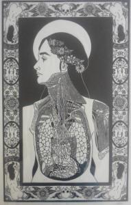 og014-cheung marion Euphrosyne Linoleumgrafia su carta 38x60
