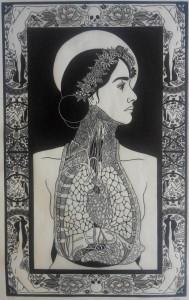 og015-Cheung Marion Thalie Linoleumgrafia su carta 38x60