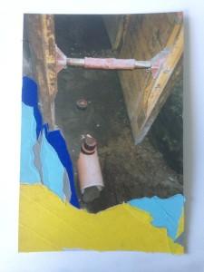 og021-davide Sito Archeologico Fotografia analogica e nastro adesivo 10x15cm