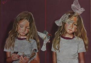 og055-laura muolo Resurrezione pastelli su cartoncino 50x70