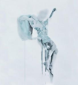 og057-lisa eleutieri serpieri A Dancer acquerello su carta 50x70