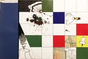 og064-marco moschetti Arcipelago1 mista su carta 30x45