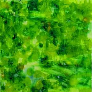op004-alex barbanti Enigma della foresta olio su tela 100x100