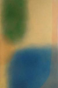 op090-lorella savarino Congiunzione acrilico e olio su tela 100 x 150 cm