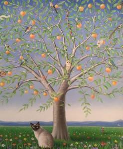op091-lorenzo vale La Piccola Caccia olio su tela 120 x 100 cm 2020