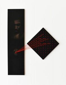 op092-marco corridoni EGO pastello e tecnica mista su tavola 70x85cm