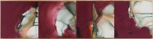 or02-annalisa filippi IN MADRE Pittura Tecnica mista su tela 24x96cm