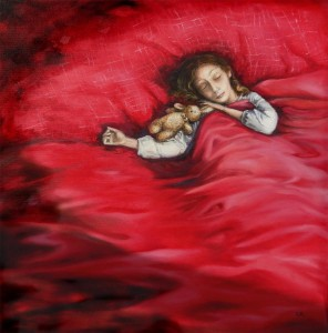 or18-elisabetta da roit Lara Pittura olio su tela 50x50