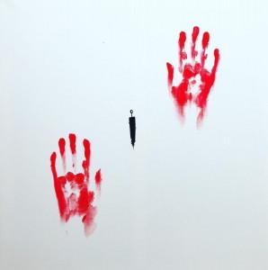 or27-greta broglio Abitarmi Pittura acrilico su tela 60x60cm
