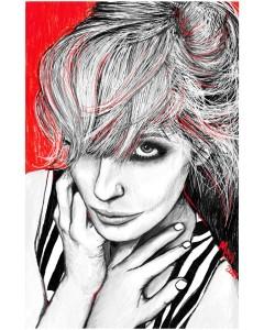 or33-marianna franza Kelly Reilly digital art su tela 50x70