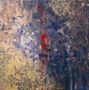 or58-sofia mariotti Il bene e il male pittura acrilico 110×110