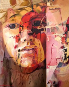 0017 Emanuela De Franceschi - Passioni-Tecnica-Mista-su-tela-75x60