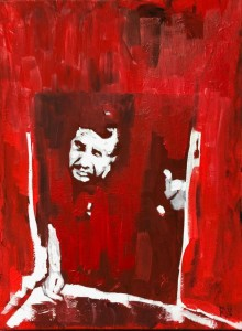 0038 Nicola Pellizzaro - 1971-Pittura-acrilico-su-tela-33x24